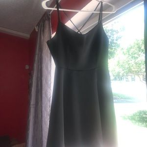 Crush by Wet Seal black cocktail dress
